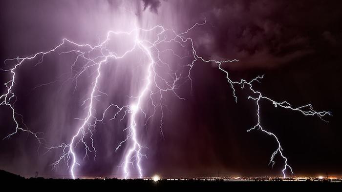 Потрясающие фотографии грозы в Аризоне.