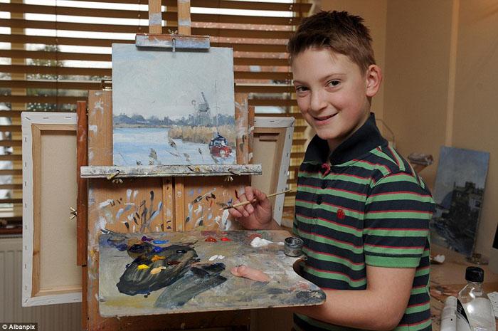 Кирон Уильямсон и его картины.