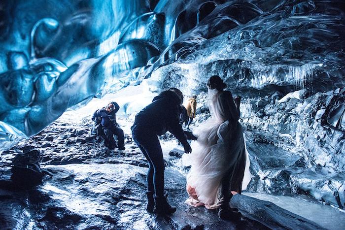Модельные фотосъемки в Исландии.