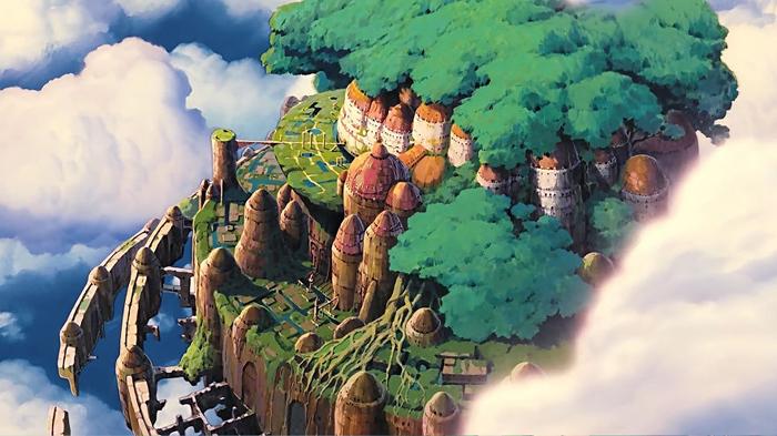Небесный замок Лапута, 1986 г.