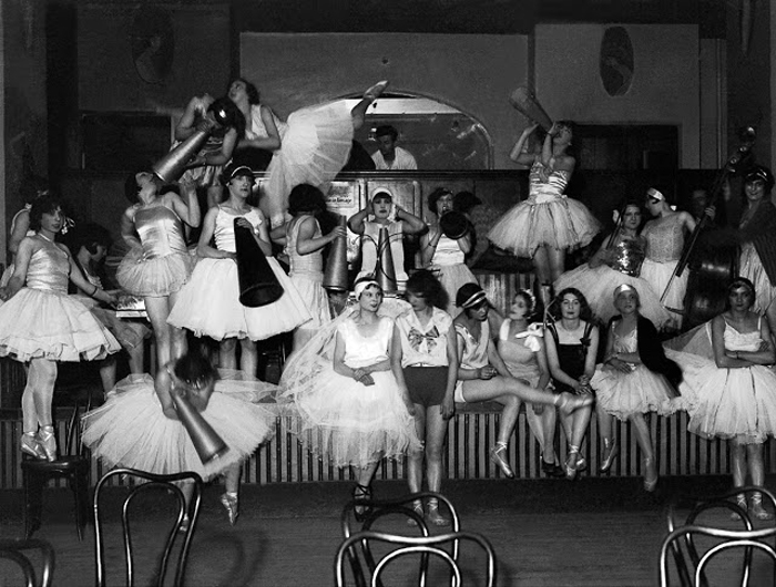 Репетиция представления. 1928г.