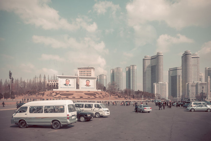 Северокорейский Дубаи. Автор фото: Helene Veilleux.