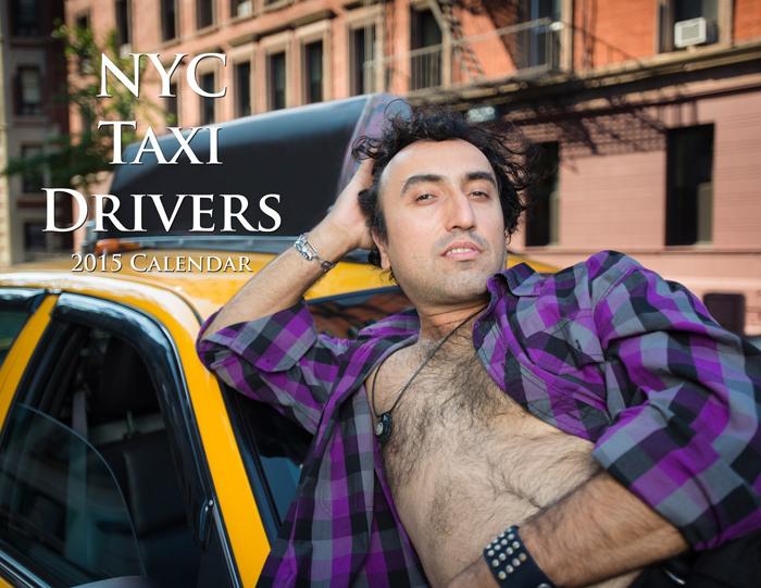Календарь от водителей такси Нью-Йорка 2015г.