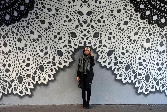 Польская художница NeSpoon.