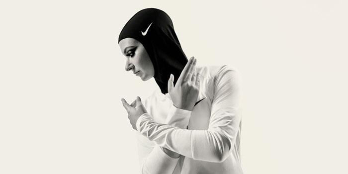 Zeina Massar, занимающаяся профессиональным боксом в Берлине.