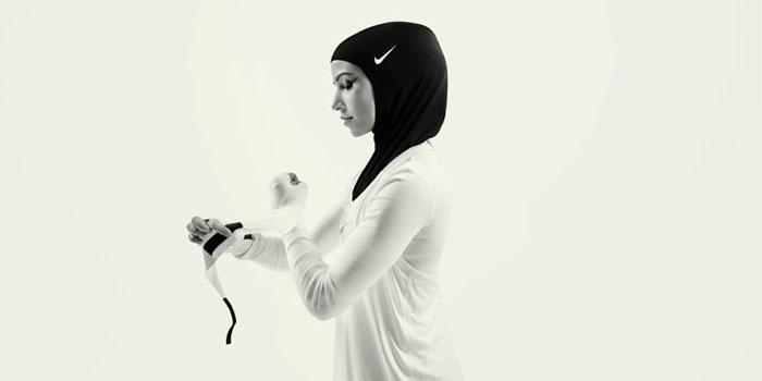 Спортсменки утверждают, но данный хиджаб намного удобнее традиционного.