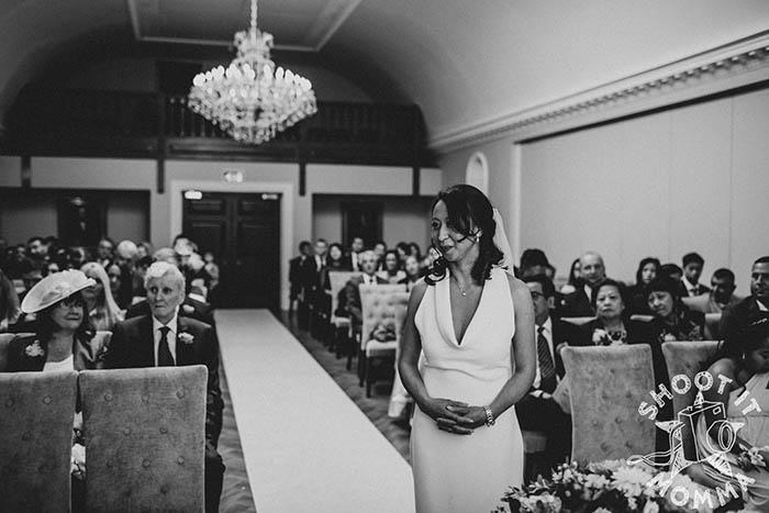 Гости говорили, что невеста выглядела просто потрясающе.