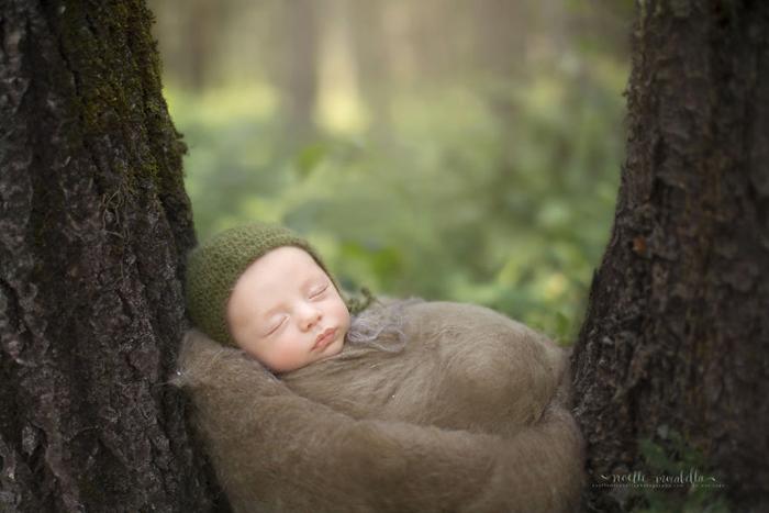 Лесной ребенок. Фото: Noelle Mirabella Photography.