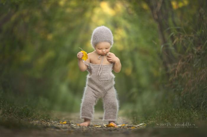 Чудесный ребенок. Фото: Noelle Mirabella Photography.