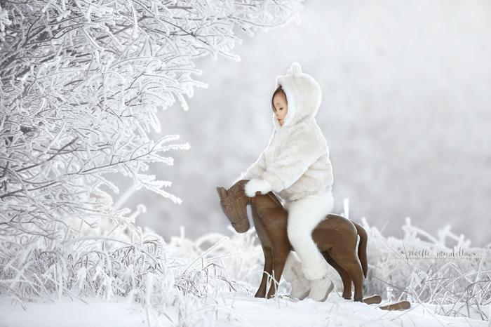 Зимняя игровая площадка. Фото: Noelle Mirabella Photography.