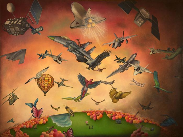 Без мусора. Картины японского художника Ясуаки Окамото.
