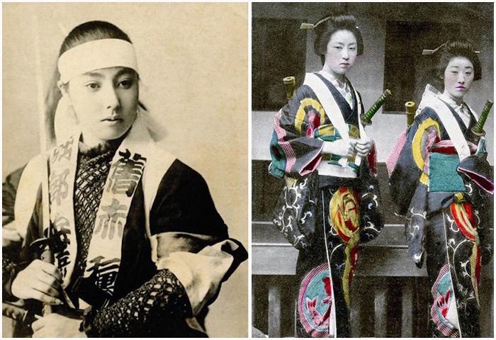 Женщины-самураи.