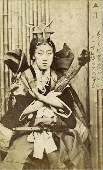 Женщина из клана буси.