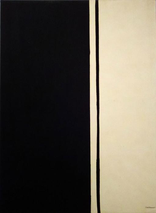 *Black Fire 1* Barnett Newman.