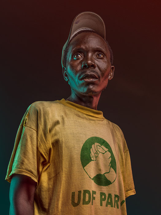 Обычные люди.  Фото: Osborne Macharia.