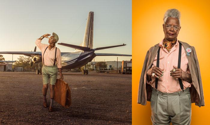 Выдуманная истории о путешествующих богатых пенсионерках.  Фото: Osborne Macharia.