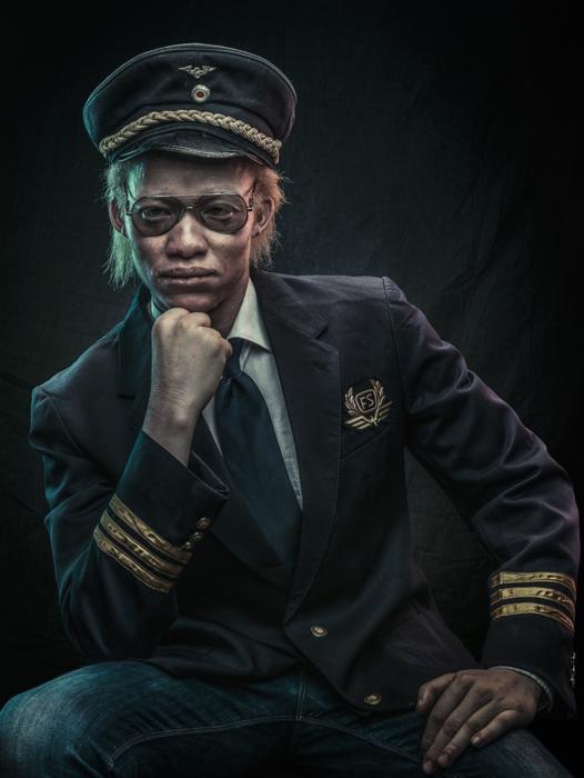 Сирус, пилот.  Фото: Osborne Macharia.
