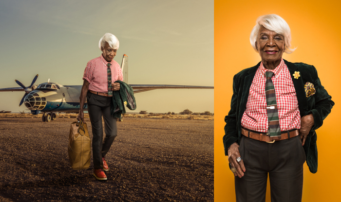 Кенийские бабушки в новой роли.  Фото: Osborne Macharia.