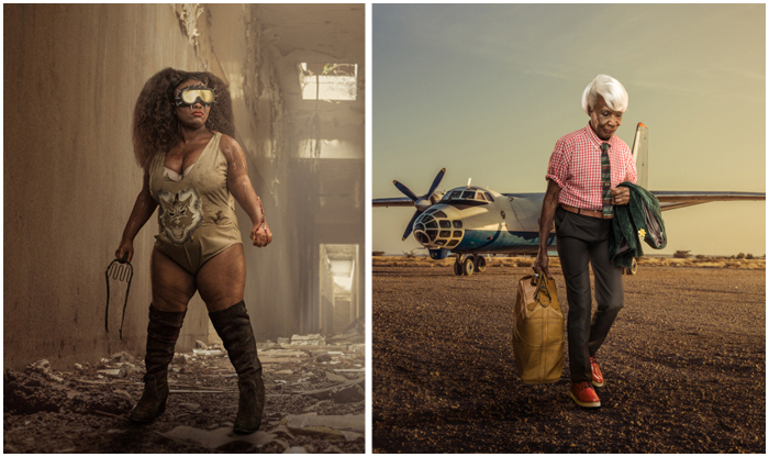 Экстравагантные бабушки и футуристические борцы: самобытный фотограф из Африки покоряет мир фотобизнеса