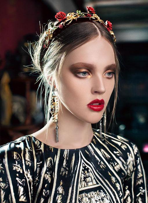 Модель: Evgeniya. Фото: Marina Danilova.