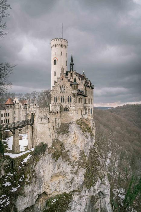 Замок Лихтенштейн. Фото: Patrick Monatsberger.