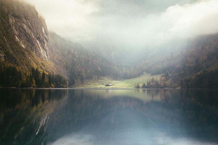 Озеро Оберзее.  Фото:  Patrick Monatsberger.