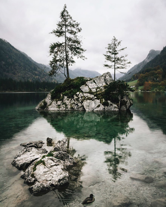 Озеро Хинтерзее. Фото: Patrick Monatsberger.