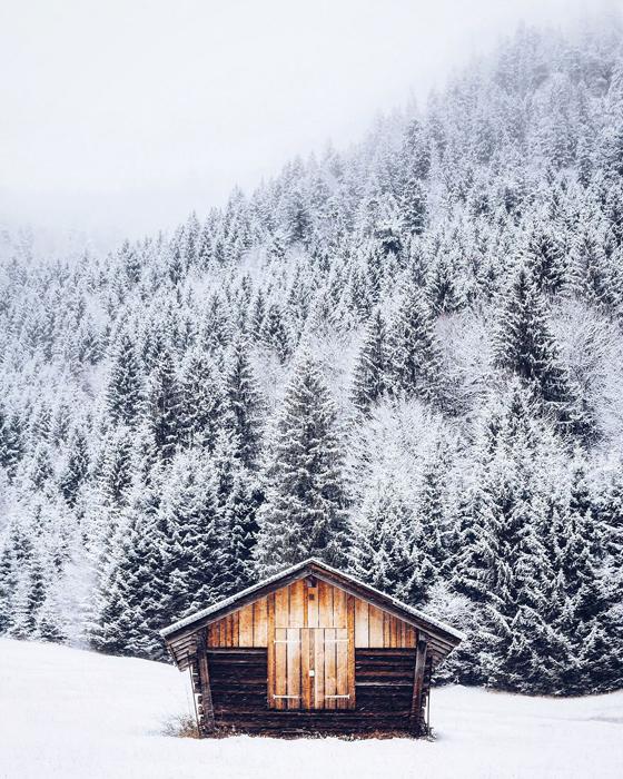 Холодное утро в Баварии. Фото: Patrick Monatsberger.