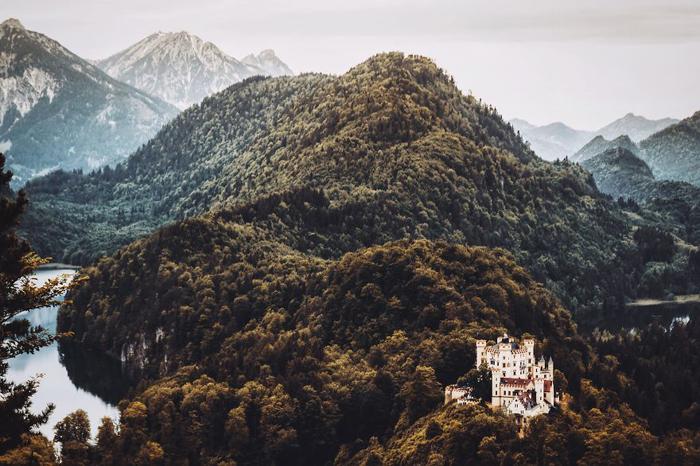 Замок Хохетшвангау. Фото: Patrick Monatsberger.