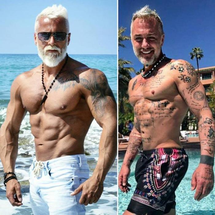 35-летний Павел Ладзяк и 50-летний Джанлука Ваччи.