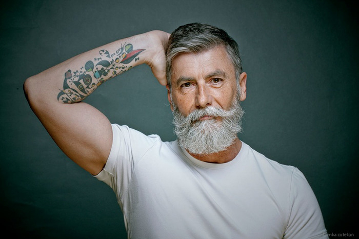 Филипп Дюма - 60-летний мужчина из Парижа, ставший моделью.