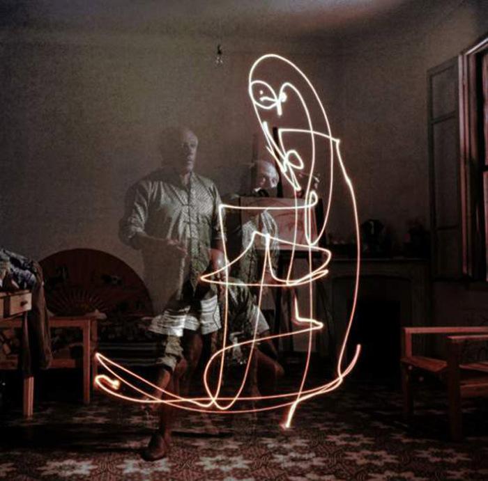 Совместные эксперимента Гийона Мили и Пабло Пикассо.