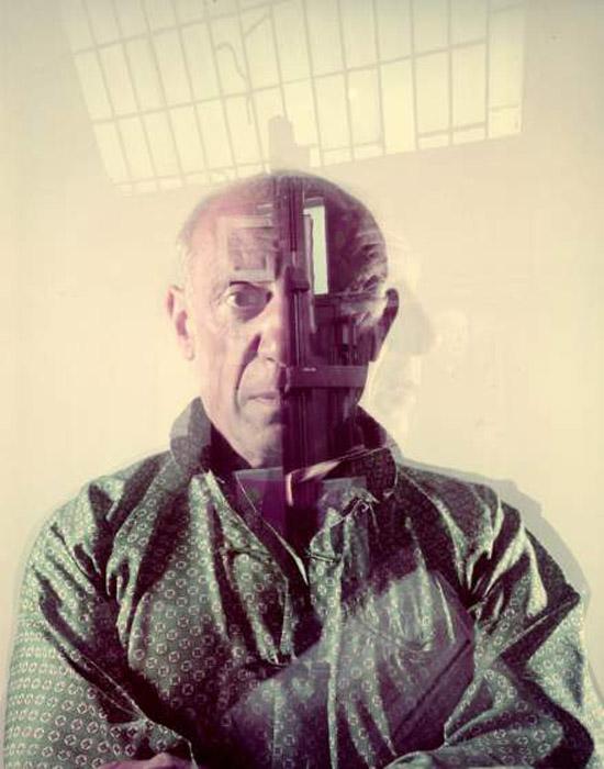 Пабло Пикассо в объективе Гийона Мили.