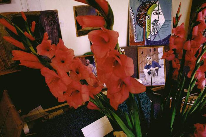 Дома у Пабло Пикассо. Автор фото: Gjon Mili.