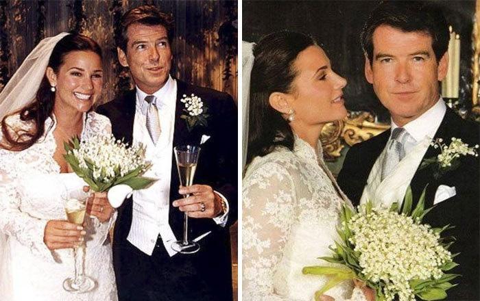 Свадьба Пирса Броснана и Кили Шей Смит.