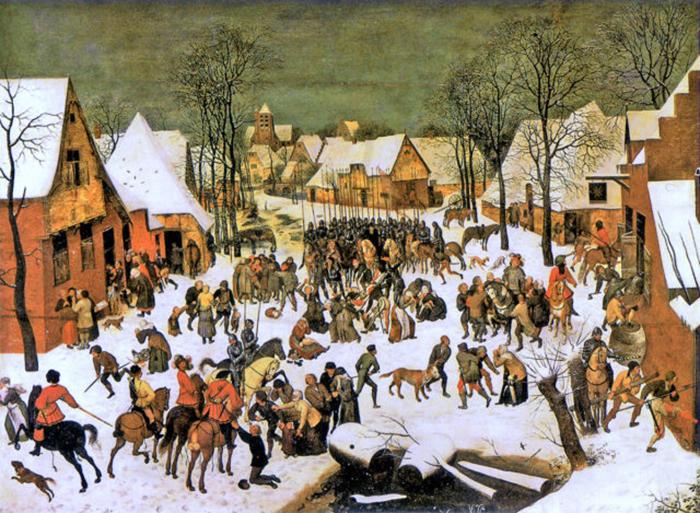 Резня невиновных (1565-1567гг).