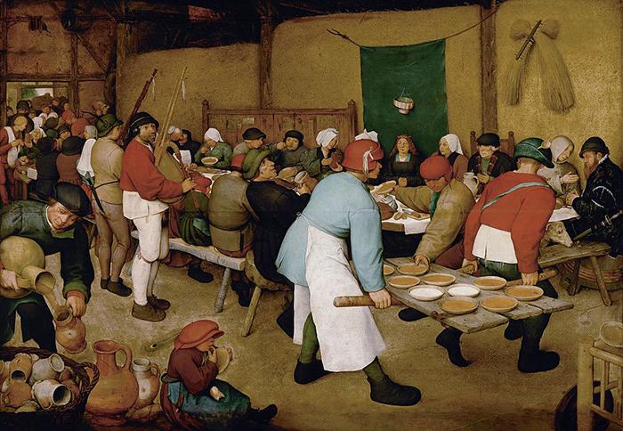 Свадьба крестьян, 1566-69гг.