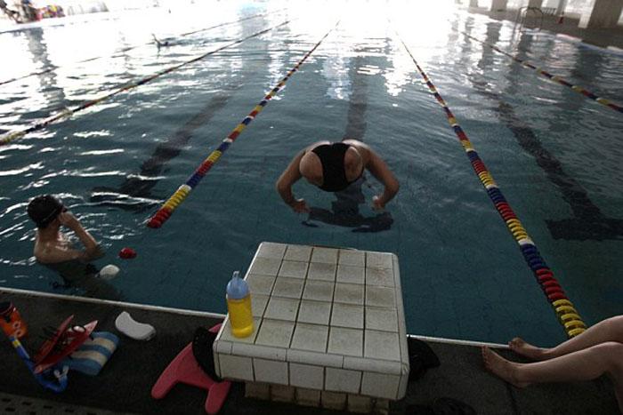 Киан на паралимпийских соревнованиях.