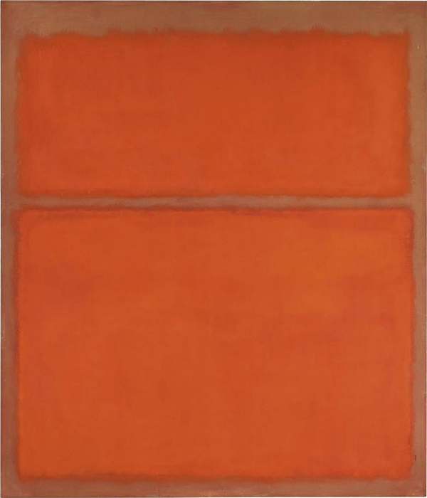 *Untitled (1961)* Mark Rothko.