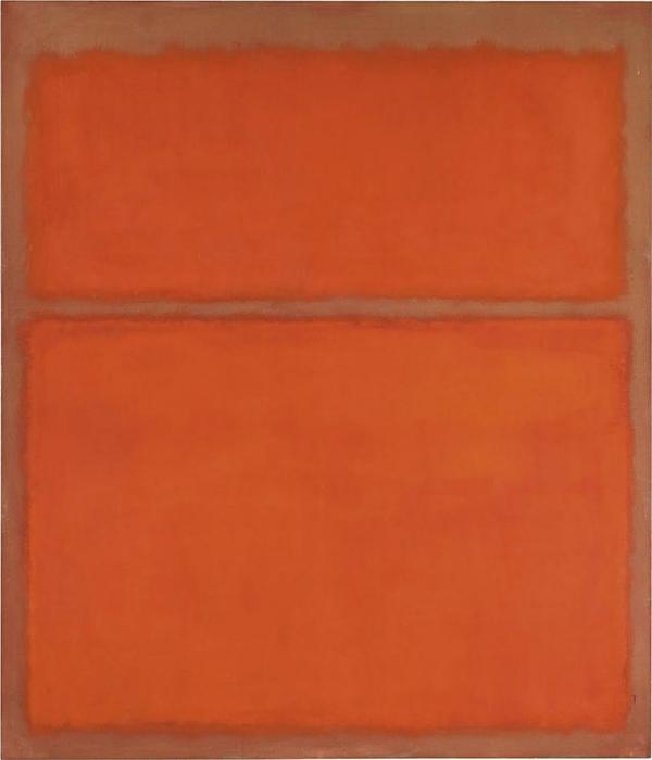 *Untitled (1961)*  Mark Rothko.