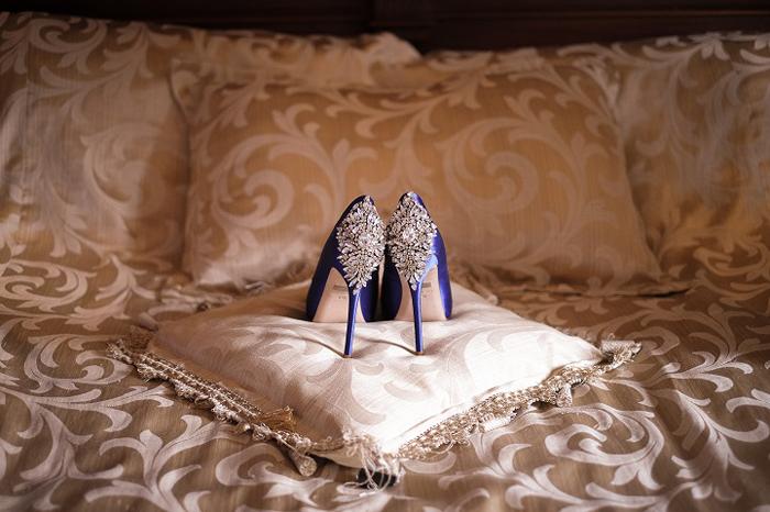 Туфельки невесты. Фото: Regina Wyllie.
