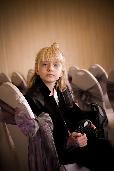 Реджина Вилли (Regina Wyllie) впервые выступает свадебным фотографом.