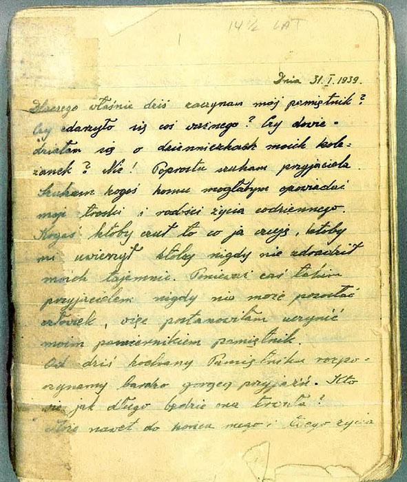 Дневник Рени Шпигель.