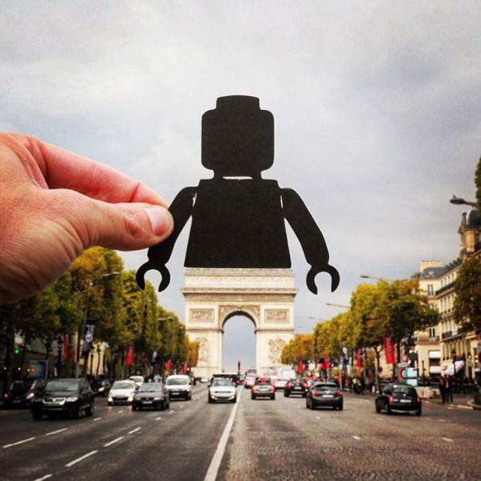 Триумфальная Арка, Париж. Автор фото: Rick McCor.