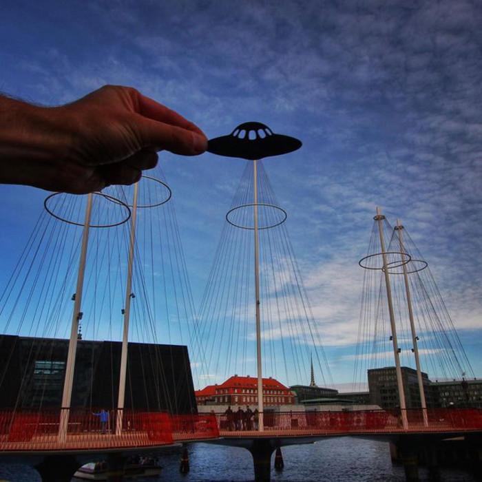 Мост Cirkelbroen в Копенгагене.  Автор фото: Rick McCor.