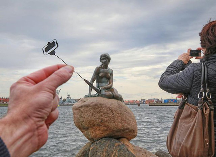 Статуя Русалочки в Копенгагене.  Автор фото: Rick McCor.