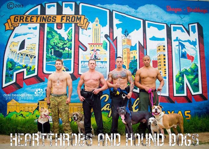 Местные герои спасают бездомных собак от одиночества.  Фото: Ricki Beason.