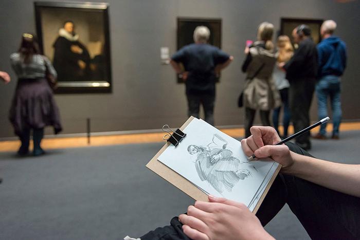 *Портрет Иоганнеса Втенбогарта* Рембрандт.