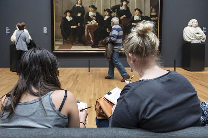 Необычный проект Rijksmuseum.