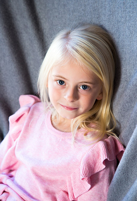 Компания призналась, что они искали привлекательного ребенка, который бы был энергичным и хорошо смотрелся в спортивной одежде.